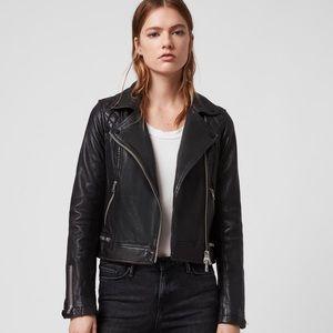 AllSaints leather jacket Conroy